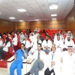 مستشفى الخميس للولادة والاطفال يحتفل باليوم العالمي للضغط