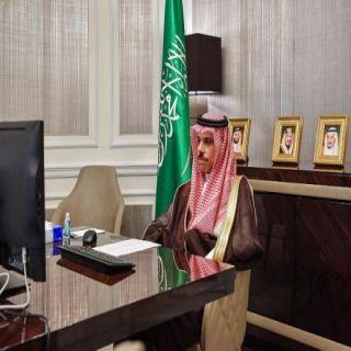 وزير الخارجية المملكة قدمت 10 ملايين دولار لمنظمة الصحة لمكافحة جائحة #كورونا