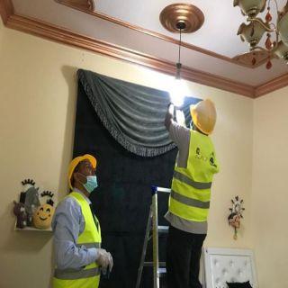 """تقنية أبها تُطلق """"مبادرة """"المتطوع التقني"""" لصيانة منازل الأسر المحتاجة بمدينة أبها"""