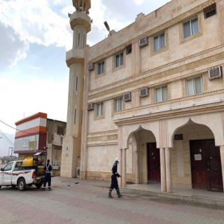 #بلدية_بارق تكثف اعمال تطهير و تعقيم ساحات المساجد استعدادا لاستقبال المصلين