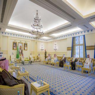 سمو أمير القصيم يلتقي وكلاء الإمارة وعدد من مدراء الإدارات بديوان الإمارة