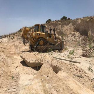 #بلدية_بلقرن تستعيد أكير من (4) آلف متر تعديات على أرضي حُكومية