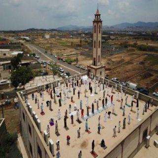 """متحدث فرع الشؤون الإسلامية في #جازان يعلق على """"الصلاة فوق أسطح المساجد"""""""