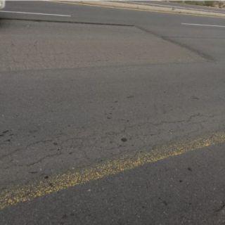 بالصور - كشط طريق #محايل #بارق تجاوز الشهر الثالث وخطر الحوادث يتربص بسالكية