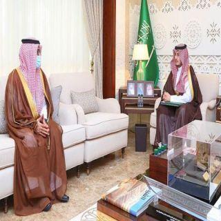 سمو نائب أمير المنطقة الشرقية يلتقي مدير فرع مركز المعلومات الوطني بالمنطقة