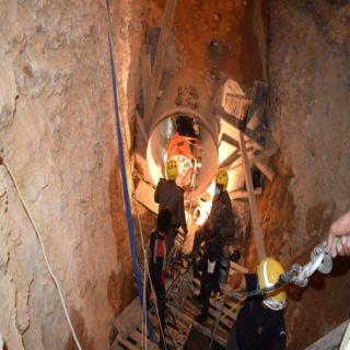 وفاة 6 عمال داخل أنبوب مشروع مياه تحت الإنشاء في عزيزية #الرياض