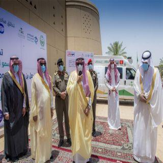 """الأمير فيصل بن مشعل يدشن مبادرة """"ملتزمون"""" للتوعية بفيروس كورونا"""