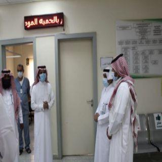 الشهري يتفقد مركز صحي وادي الخير ويفتتح جامع الخير بقُرى سد عامر