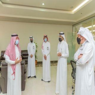 أمين منطقة القصيم يشهد انطلاقة إدارة التسويق وخدمة المستثمرين
