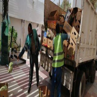 أمانة #جدة إغلاق (62) موقعاً ومصادرة (3) طن من الخضروات بنطاق الجنوب
