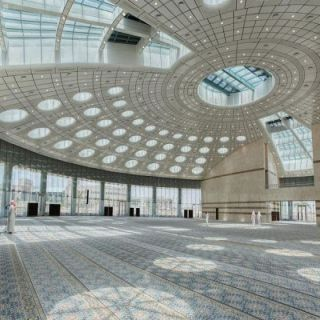 شاهد - مسجد #جامعة_تبوك تحفة معمارية بأكبر قُبة في #الشرق_الأوسط