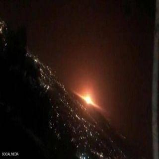 دوي إنفجار ضخم يهز شرقي #طهران ومواقع التواصل توثق ما حدث