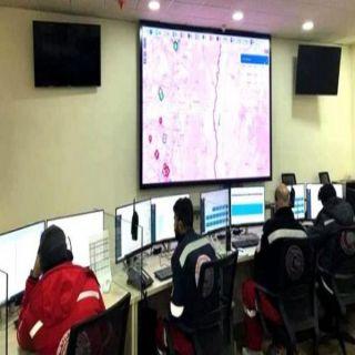 عمليات الهلال الأحمر تتلقى 442 ألف مكالمة لحالات إسعافية خلال شهر يوليو
