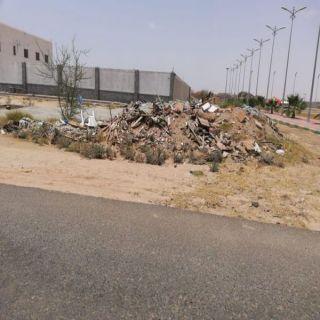 #بلدية_وادي_بن_هشبل ترفع 5000 طن انقاض مباني