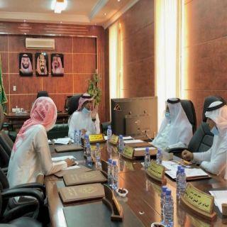 بلدي #بارق يناقش مدى إنجاز مشاريع البلدية ويعتمد خطة العيد