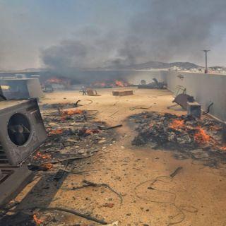 مدني #حائل يُخمد حريق اندلع بمبنى الإدارة العامة لخدمات المياه