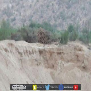 بعد صمت الكثير من الإدارات عن نهل الرمال أهالي ثلوث المنظر يستنجدون بالدفاع المدني