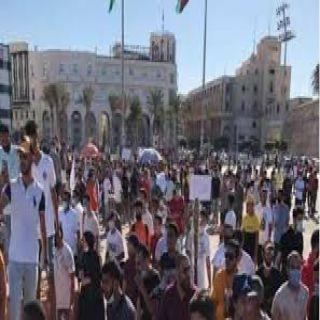 """ميليشيات النواصي تقطع أوصال طرابلس في """"جمعة إسقاط السراج"""""""