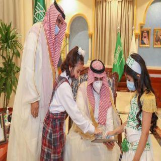 """سمو أمير الجوف يستقبل مُدير تعليم المنطقة ويُدشن  """"منصة مدرستي"""""""