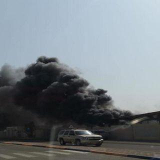 التجمع الصحي بـ #صحة_الأحساء يوضح اسباب حريق محدود بقسم صيانة السيارات