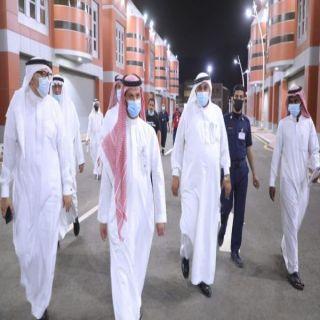 """الدكتور """" العويسى"""" يتفقد المراكز الإسعافية في منطقة #مكة_المكرمة"""