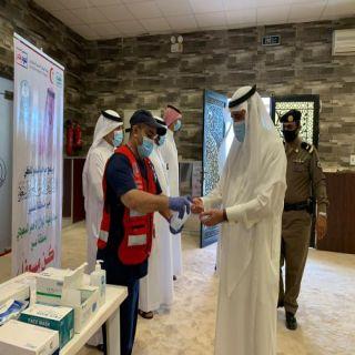 البناوي ومُدير مركز إسعاف #بارق يُفعلان مُبادرة كُن مُسعفًا