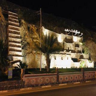 #بلدية_بارق تُعيد تأهيل شلال الملك فهد وسط المُحافظة