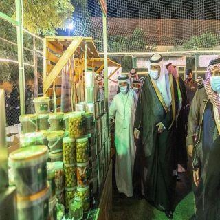 سمو أمير منطقة الباحة يفتتح مهرجان الزيتون الأول