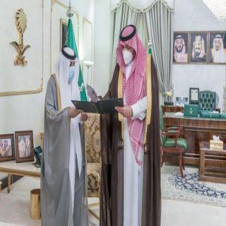 أمير الشمالية يستقبل رئيس فرع الجمعية العربية السعودية للثقافة والفنون