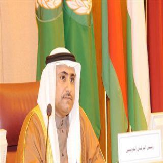 رئيس البرلمان العربي يهنئ الدكتور عبد الله آل الشيخ بمناسبة تعيينه رئيساً لمجلس الشورى السعودي