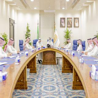 أمين منطقة القصيم يلتقي مدير فرع وزارة الموارد البشرية