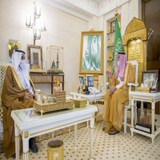 سمو أمير القصيم يستقبل محافظ المؤسسة العامة للتدريب التقني والمهني