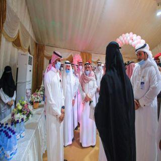 #الشيحية العام يُنفذ حملة توعوية للكشف عن سرطان الثدي لزوار مهرجان رمان القصيم