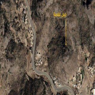 #إمارة_عسير تكشف آخر أعمال عمليات إطفاء حريق جبل غُلامه في #تنومة