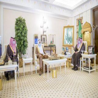 سمو أمير القصيم يستقبل الدكتور الشتيوي بمناسبة تكليفه رئيساً لجامعة المستقبل