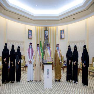 """سمو الأمير فيصل بن مشعل يطلق مبادرة فريق سخاء التطوعي """"تراميم"""""""