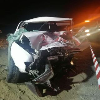 عسير: وفاة وإصابة 3 بحادث تصادم وإنقلاب بعقبة ضلع
