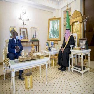 سمو أمير منطقة القصيم يستقبل سفير جمهورية كينيا لدى المملكة.