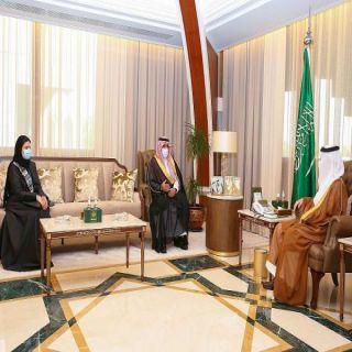 سمو أمير الشرقية يلتقي نائب رئيس هيئة حقوق الإنسان