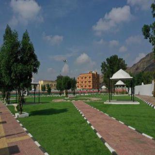شاهد #بلدية_المجاردة تُعيد تهيئة الحدائق العامة لإستقبال زوار المُحافظة