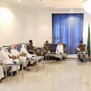 المرزوقي يترأس إجتماع اللجنة الفرعية للدفاع المدني في #المجاردة