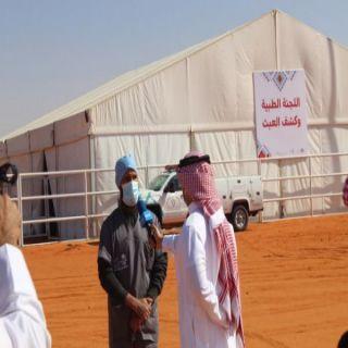 #جامعة_القصيم تُشارك في فحص الإبل بمهرجان الملك عبد العزيز في نسخته الخامسة