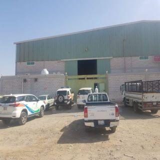 في #جدة الأمانة تُغلق 10 مستودعات و 14 موقعا للحرق والتدوير وجمع السكراب
