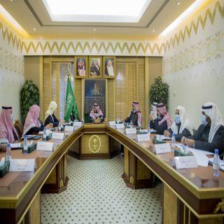 سمو أمير القصيم يرأس اجتماع اللجنة الميدانية لمتابعة المشاريع
