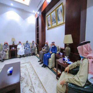محافظ #البكيرية يلتقي رئيس لجنة الأهالي ويطلع على خطط وبرامج اللجنة
