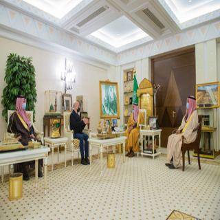سمو أمير القصيم يلتقي الرئيس التنفيذي هيئة المتاحف بالمملكة الدكتور ستيفانو كاربوني