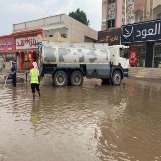 الأمطار تكشف حاجة وسط #بارق إلى مشاريع تصريف مياه الأمطار