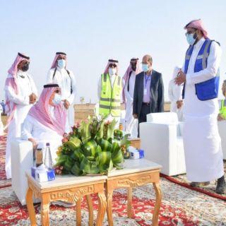 سمو أمير #جازان يتفقد مشروع مطار الملك عبدالله الجديد