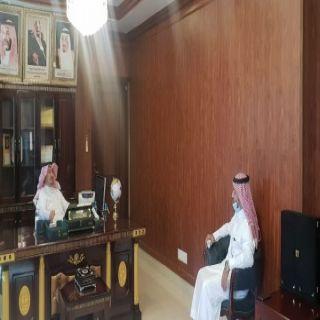 مُحافظ #المجاردة يستقبل مدير فرع وزارة الاسكان بعسير