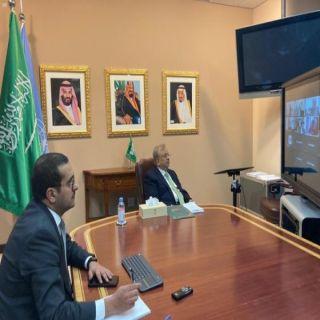 السفير المعلمي يشارك في الاجتماع الأول لسفراء دول مجلس التعاون الخليجي لدى الأمم المتحدة